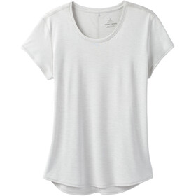 Prana Reeve Camisa Manga Corta Mujer, silver